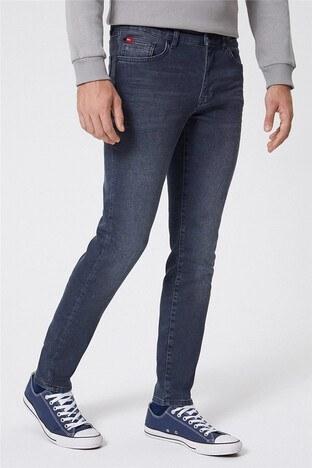 Lee Cooper - Lee Cooper Jeff Jeans Erkek Kot Pantolon 221 LCM 121062 DN1161 GRİ