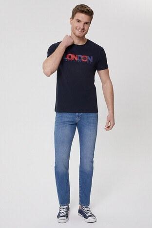 Lee Cooper Harry Jeans Erkek Kot Pantolon 212 LCM 121001 DN1485 MAVİ