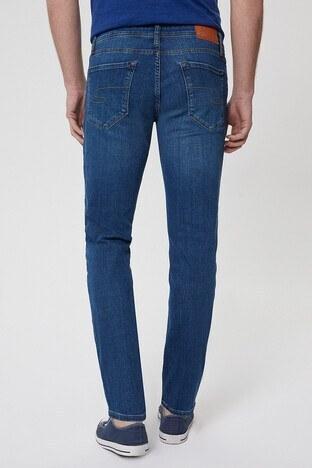 Lee Cooper Pamuklu Slim Fit Jagger Jeans Erkek Kot Pantolon 212 LCM 121028 DN1504 MAVİ