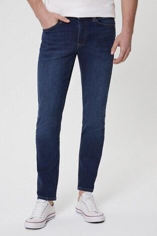 Lee Cooper Pamuklu Slim Fit Jeff Jeans Erkek Kot Pantolon 212 LCM 121062 DN1525 MAVİ