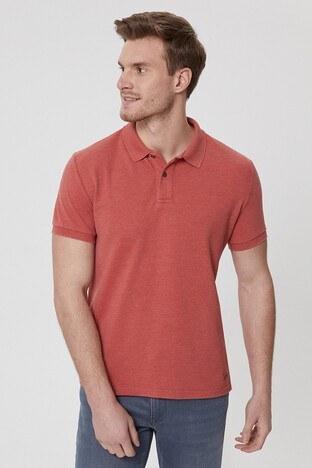 Lee Cooper T Shirt Erkek Polo 212 LCM 242023 3204 Koyu Mercan
