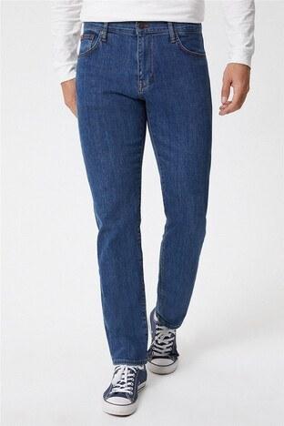 Lee Cooper - Lee Cooper Ricky Jeans Erkek Kot Pantolon 221 LCM 121018 DN1607 MAVİ