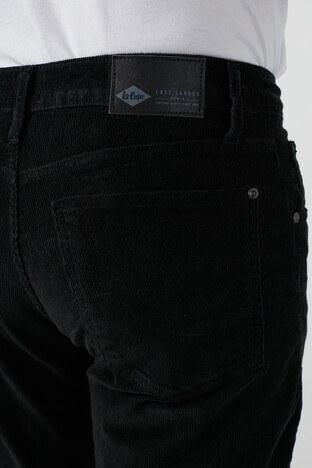 Lee Cooper Ricky Pamuklu Düz Kesim Kadife Erkek Pantolon 211 LCM 221006 8101 SİYAH
