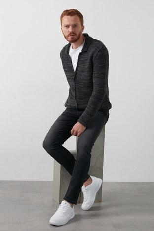 Lee Cooper Slim Fit Pamuklu Jack Jeans Erkek Kot Pantolon 211 LCM 121048 DN1125 KOYU GRİ