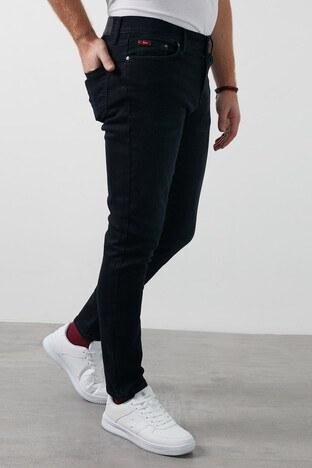 Lee Cooper Slim Fit Pamuklu Jack Jeans Erkek Kot Pantolon 211 LCM 121078 DN1439 KOYU LACIVERT