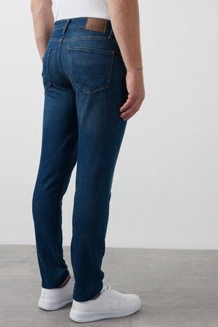 Lee Cooper Slim Fit Pamuklu Jack Jeans Erkek Kot Pantolon 211 LCM 121080 DN1436 MAVİ