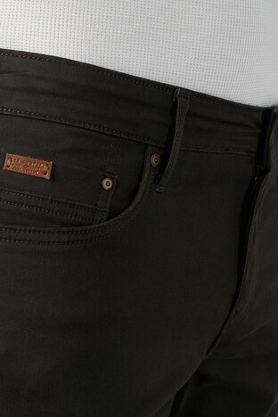 Lee Cooper Slim Fit Pamuklu Jagger Erkek Pantolon 211 LCM 221007 5212 KOYU HAKİ