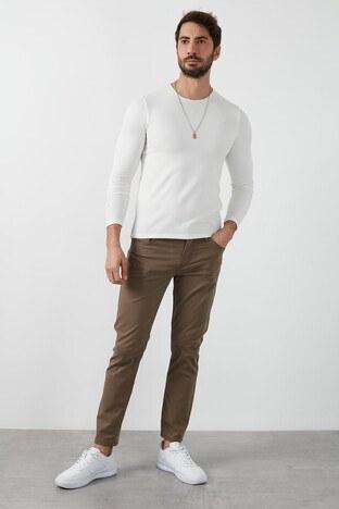 Lee Cooper Slim Fit Pamuklu Jagger Erkek Pantolon 211 LCM 221007 6105 TABA