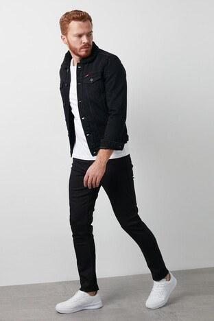 Lee Cooper Slim Fit Pamuklu Jagger Jeans Erkek Kot Pantolon 211 LCM 121032 DN0199 SİYAH