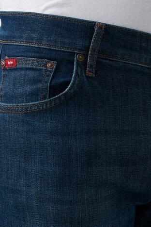 Lee Cooper Slim Fit Pamuklu Jagger Jeans Erkek Kot Pantolon 211 LCM 121072 DN1426 KOYU MAVİ