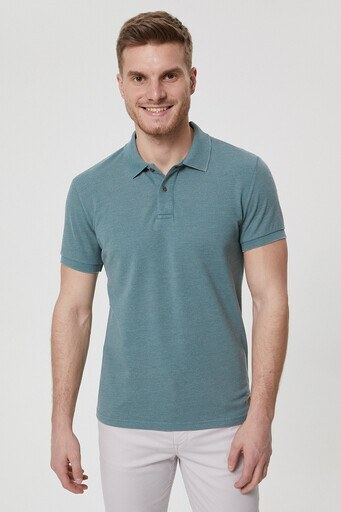 Lee Cooper T Shirt Erkek Polo 212 LCM 242023 5101 YEŞİL