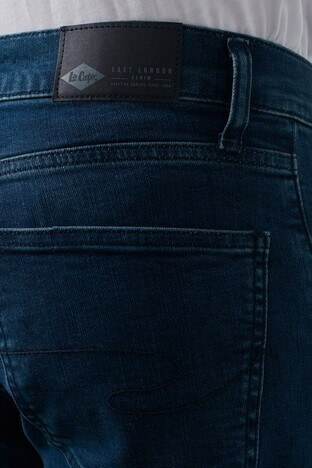 Lee Cooper Yüksek Bel Düz Kesim Pamuklu Ricky Jeans Erkek Kot Pantolon 211 LCM 121014 DN1371 KOYU MAVİ