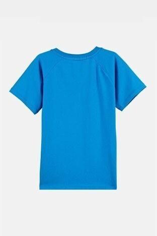 Lela Baskılı Bisiklet Yaka % 100 Pamuk Erkek Çocuk T Shirt 08441 SAKS
