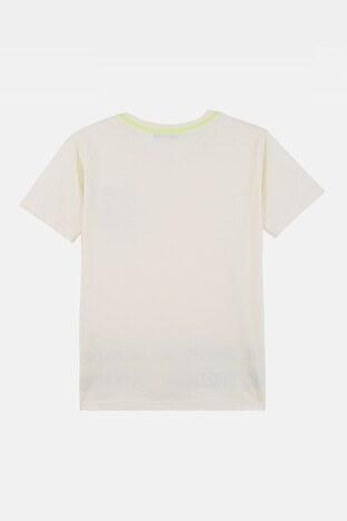 Lela Erkek Çocuk T Shirt 08328 EKRU