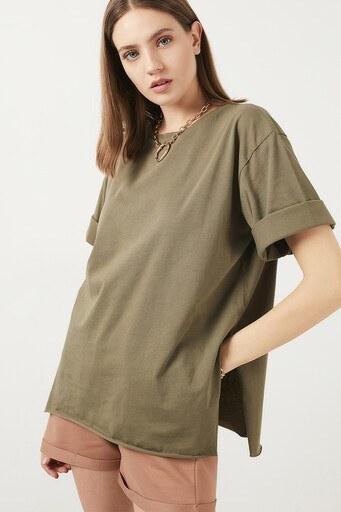Lela Bayan T Shirt 5411073 HAKİ