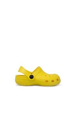 Lela - Lela Unisex Çocuk Sandalet E012P00011 LL SARI