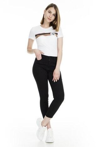 Lela - Lela Jeans Bayan Kot Pantolon 8523F732MARTHA SİYAH