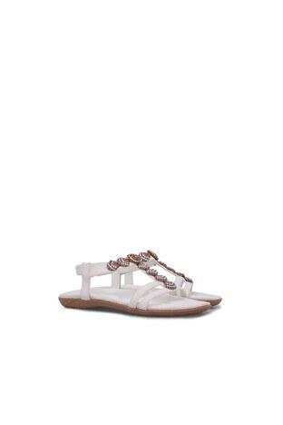 Lela Kız Çocuk Sandalet 38919Y251 BEYAZ