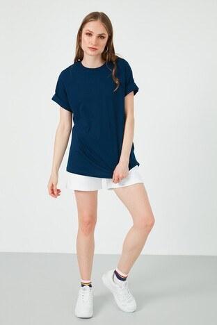 Lela Bayan T Shirt 6001005 LACİVERT