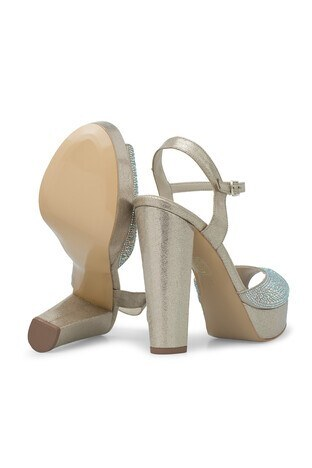 Lela Topuklu Abiye Bayan Ayakkabı 1840739SIVAMATAS DORE