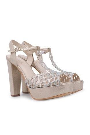 Lela Topuklu Abiye Bayan Ayakkabı 1840741SIVAMATAS DORE