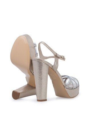 Lela Topuklu Abiye Bayan Ayakkabı 1840742SIVAMATAS DORE