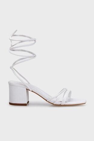 Lela - Lela Topuklu Bayan Ayakkabı 347ELLA BEYAZ