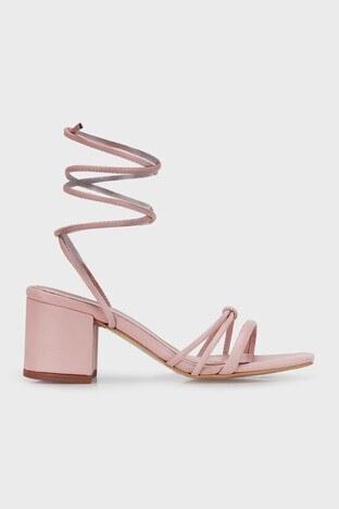 Lela - Lela Topuklu Bayan Ayakkabı 347ELLA PUDRA