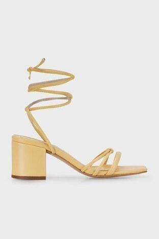 Lela - Lela Topuklu Bayan Ayakkabı 347ELLA SARI