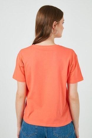 Lela Bayan T Shirt 6001000 NAR ÇİÇEĞİ