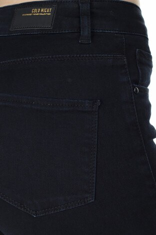 Lela Yüksek Bel Dar Kesim Jeans Bayan Kot Pantolon 8523T769MARTHA SİYAH