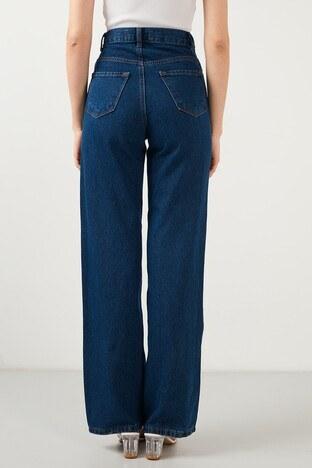 Lela Jeans Bayan Kot Pantolon 5876041 MAVİ