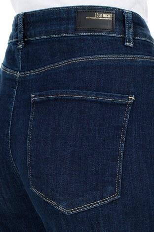 Lela Yüksek Bel Jeans Bayan Kot Pantolon L8522T756NICOLE LACİVERT