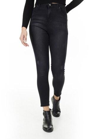Lela Yüksek Bel Skinny Jeans Bayan Kot Pantolon 58713263 SİYAH