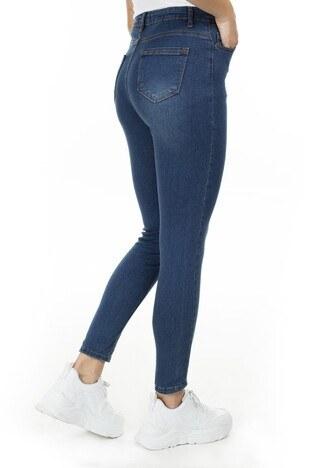 Lela Yüksek Bel Skinny Jeans Bayan Kot Pantolon 58713266 KAHVE