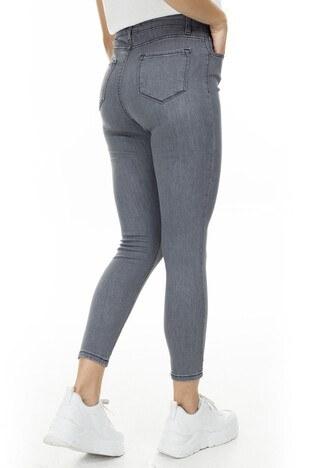 Lela Yüksek Bel Skinny Jeans Bayan Kot Pantolon 58714861 GRİ