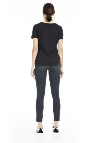 Lela Yüksek Bel Skinny Jeans Bayan Kot Pantolon 8523T743MARTHA SİYAH