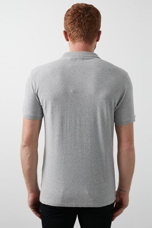 Levis % 100 Pamuk Düğmeli T Shirt Erkek Polo 24574-0001 AÇIK GRİ