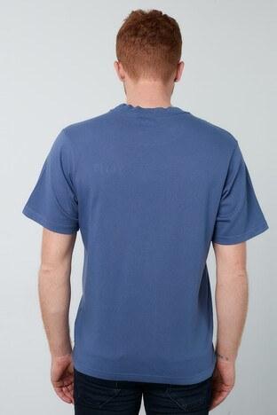 Levis % 100 Pamuklu Bisiklet Yaka Erkek T Shirt 86823-0001 İNDİGO