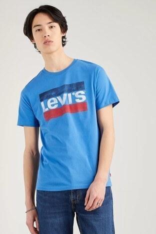Levis % 100 Pamuklu Regular Fit Bisiklet Yaka Erkek T Shirt 39636-0051 SAKS