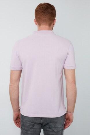 Levis % 100 Pamuklu T Shirt Erkek Polo 22401-0135 LİLA