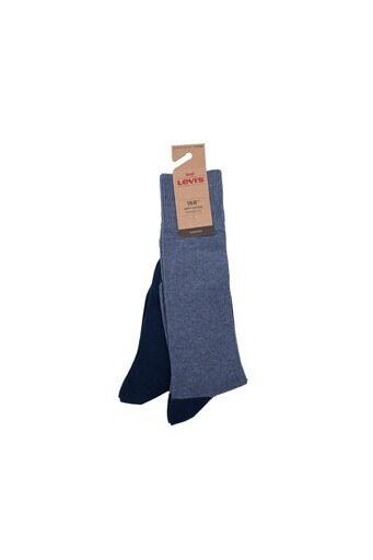 Levis 2 Pack Erkek Çorap 77319-0895 Lacivert-Açık Lacive
