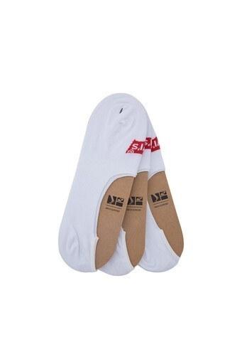 Levis 3 Pack Erkek Çorap 37157-0059 BEYAZ