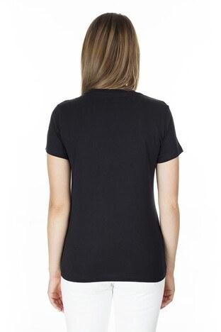 Levis Baskılı Bisiklet Yaka Regular Fit Kadın T Shirt 17369-0907 SİYAH