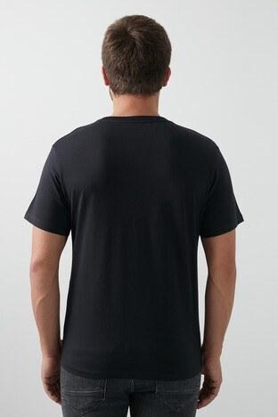 Levis Baskılı Pamuklu Bisiklet Yaka Erkek T Shirt 22491-0768 SİYAH