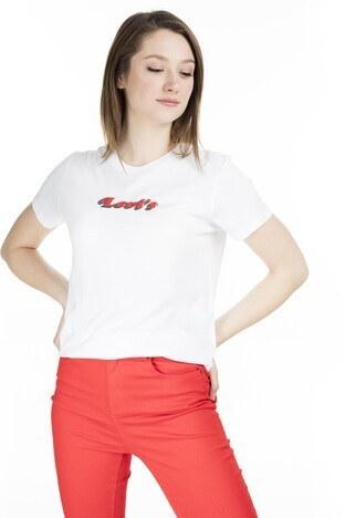 Levi's - Levis Bayan T Shirt 17369-0779 BEYAZ