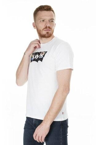Levi's - Levis Bisiklet Yaka Regular Fit Erkek T Shirt 22489-0273 BEYAZ