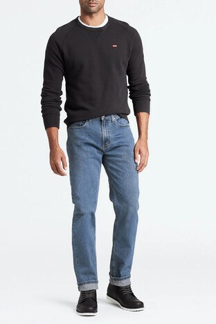 Levi's - Levis 514 Jeans Erkek Kot Pantolon 00514-1267 KOYU MAVİ