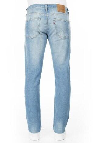 Levis Düşük Bel Pamuklu 511 Jeans Erkek Kot Pantolon 04511-4105 AÇIK MAVİ