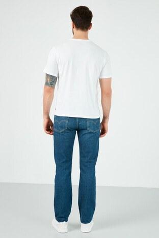 Levis Düz Kesim Pamuklu 514 Jeans Erkek Kot Pantolon 00514-1523 KOYU MAVİ
